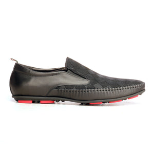 Casual Driving Loafers For Men - Black - Smart Casuals - Pavers England