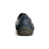 Albert Men's Casual Moccasins - Navy - Comfort Fits - Pavers England