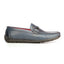 Solid Bit Loafers For Men - Navy
