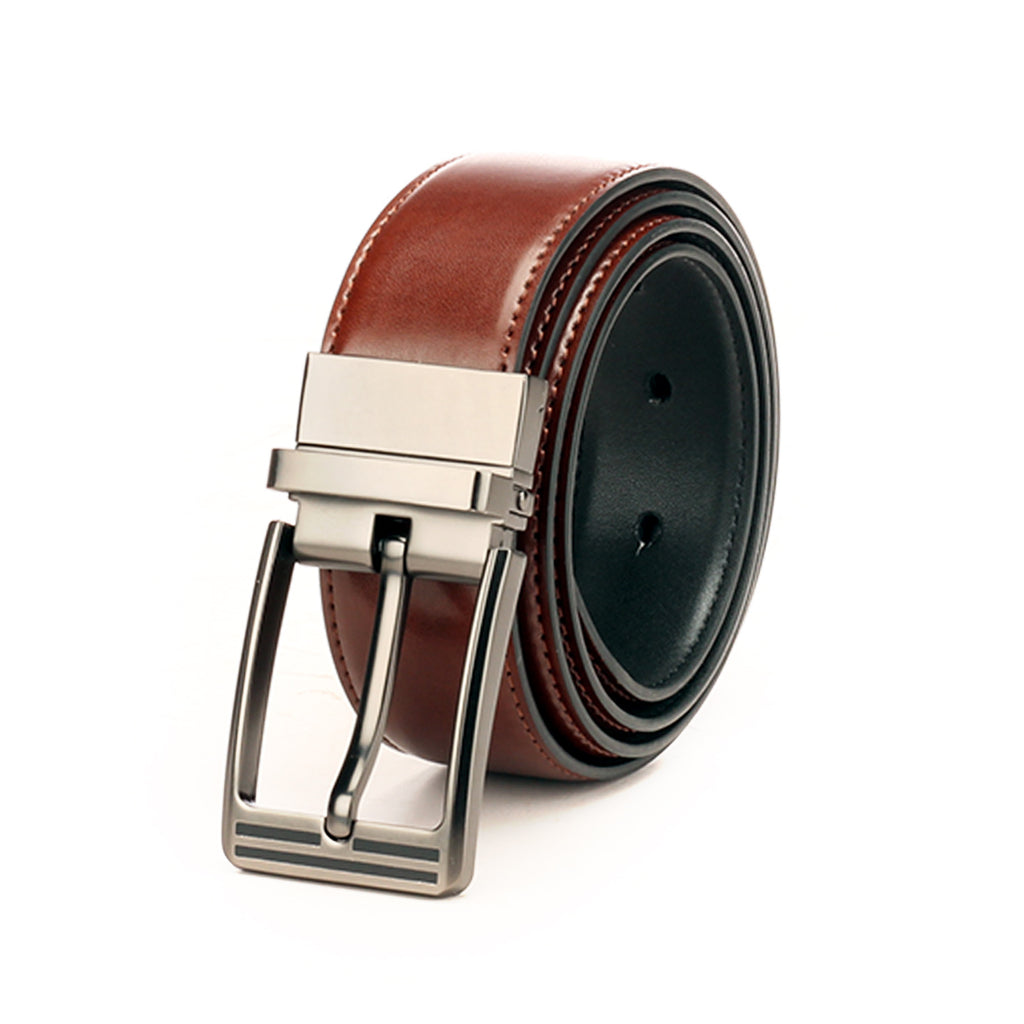 Leather Reversible Formal/Casual Waist Belt for Men - Bags & Accessories - Pavers England