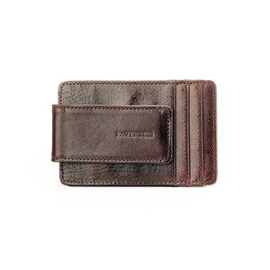 Brown Formal/Casual Leather Card Holder Wallet for Men - Card Holder - Pavers England