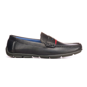 Penny Loafers For Men - Black - Moccasins - Pavers England