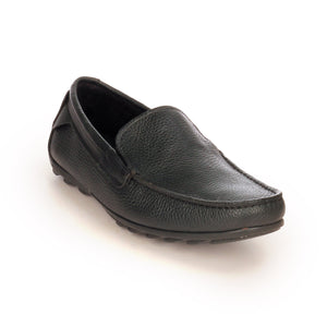 Formal Leather Loafers For Men - Black - Smart Casuals - Pavers England