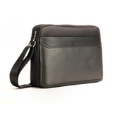 Formal Casual Sling Bag for Men-Black - Bags & Accessories - Pavers England