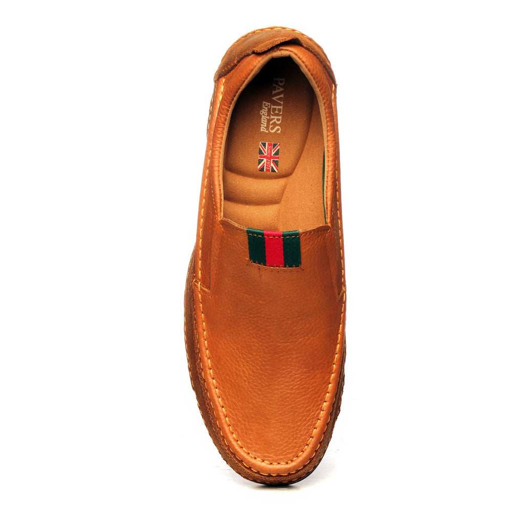 Albert Men's Casual Moccasins - Comfort Fits - Pavers England
