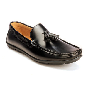 Sleek Tassel Loafer For Men - Black - Moccasins - Pavers England