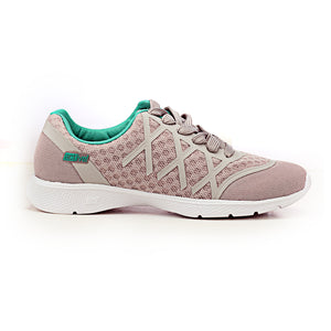 Casual Textile Lace-ups for Women - Silver - Sneakers - Pavers England