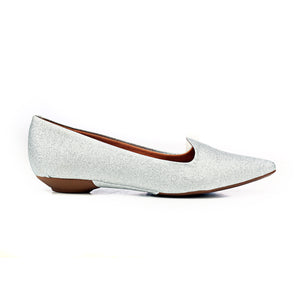 Women's Shoe - Silver - Pumps - Pavers England
