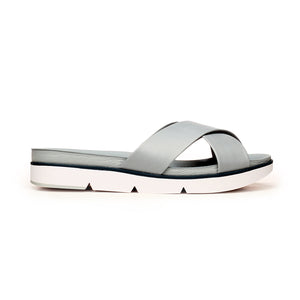 Casual Slip-On Mules for Women-Blue