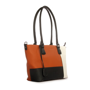 Sombre tote bags for everyday use-White - Shoulder Bags - Pavers England