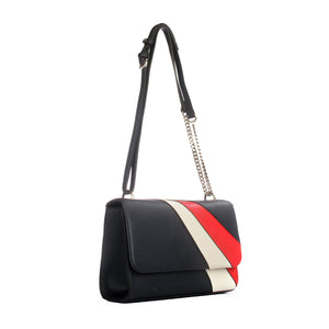 Diagonal ombre panel small sling bag - Sling Bags - Pavers England