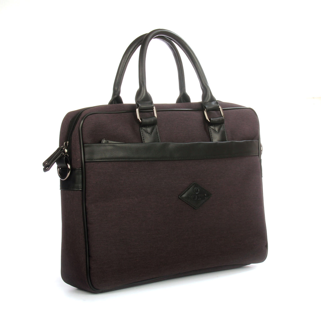 Black multipocket laptop bag for everyday use - Black - Bags & Accessories - Pavers England
