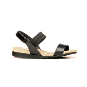 Flat Sandals with Velcro straps for Women - Casual - Pavers England