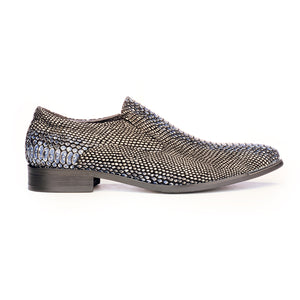 Slip-on Snakeskin Shoe For Men