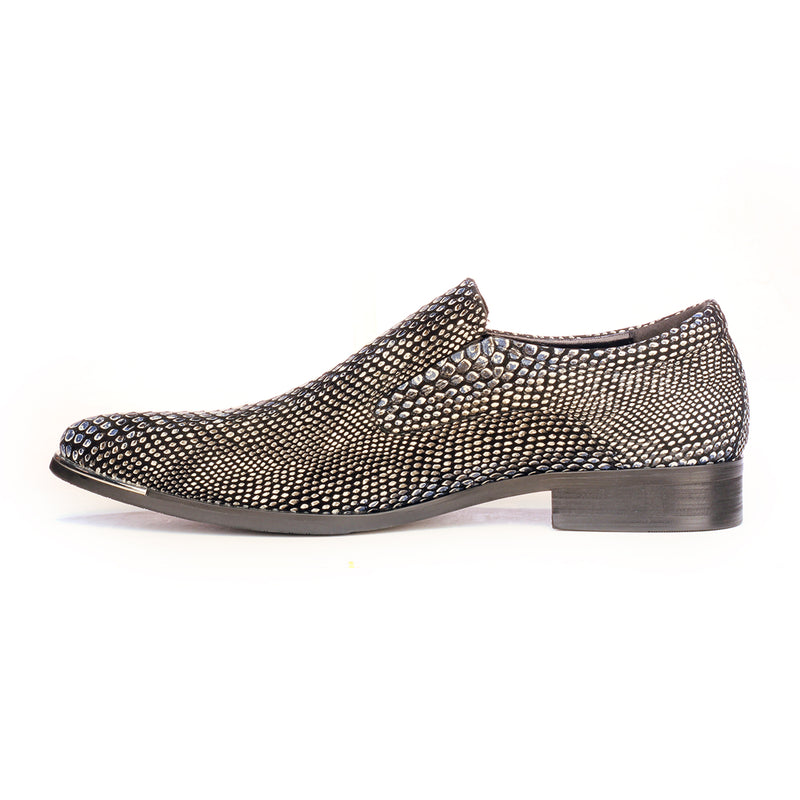 c537a5c0ff4 Slip-on Snakeskin Shoe For Men