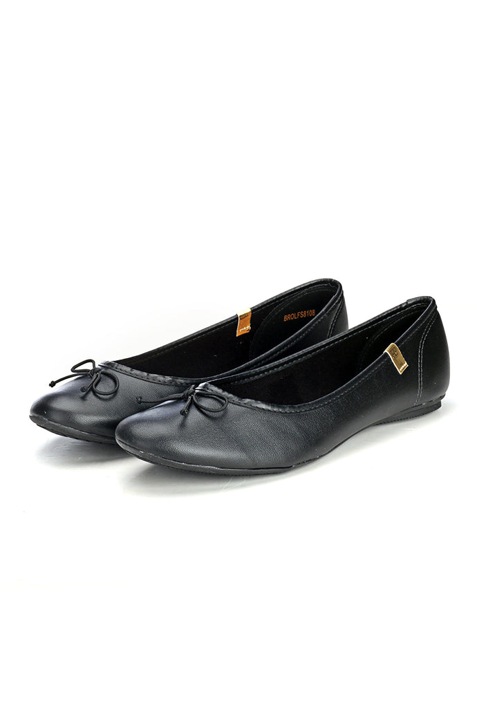 Formal Ballerinas - Black - Full Shoes - Pavers England