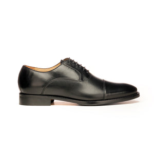 Leather Lace-up Shoes for Men-Black - Lace ups - Pavers England