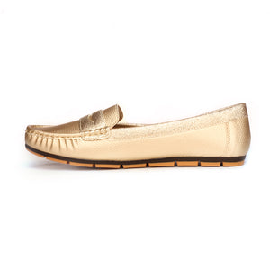 Solid Bronze Loafers - Full Shoes - Pavers England