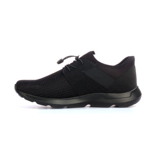 Textured lace-up textile shoes for men