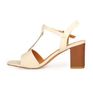 Formal T-Strapped Sandals for Women - Smart - Pavers England