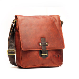 Formal / Casual Leather Shoulder Bag for Men - Bags - Pavers England