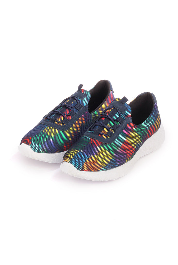 Textile Slip-ons for Women for Casual / College Look - Multi - Sneakers - Pavers England