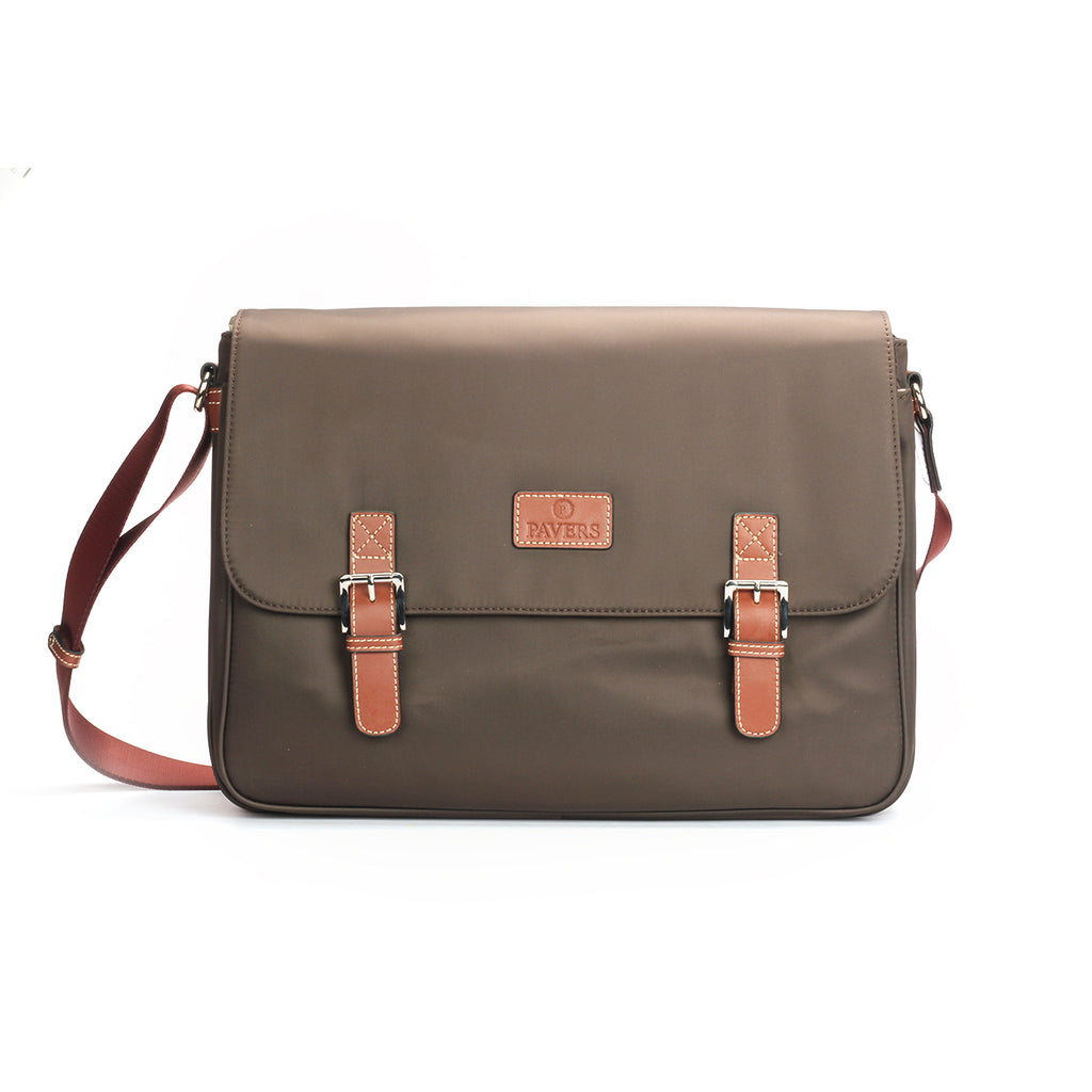 Stylish Sling Bag For Men - Brown Multi - Bags & Accessories - Pavers England