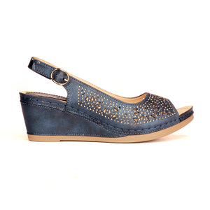 Perforated Upper Pattern Sandals for Women