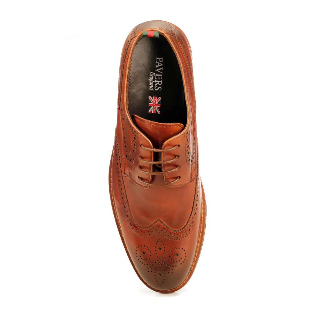 Formal Wingtip Brogues For Men - Lace ups - Pavers England