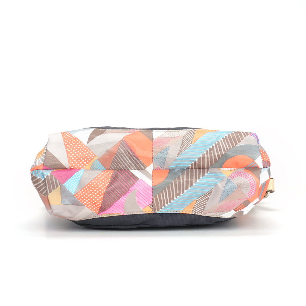 Multicoloured Fabric Hobo for Women - Bags & Accessories - Pavers England