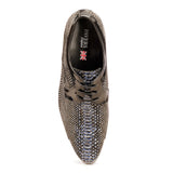 Lace-up Snakeskin Shoe For Men - Lace ups - Pavers England