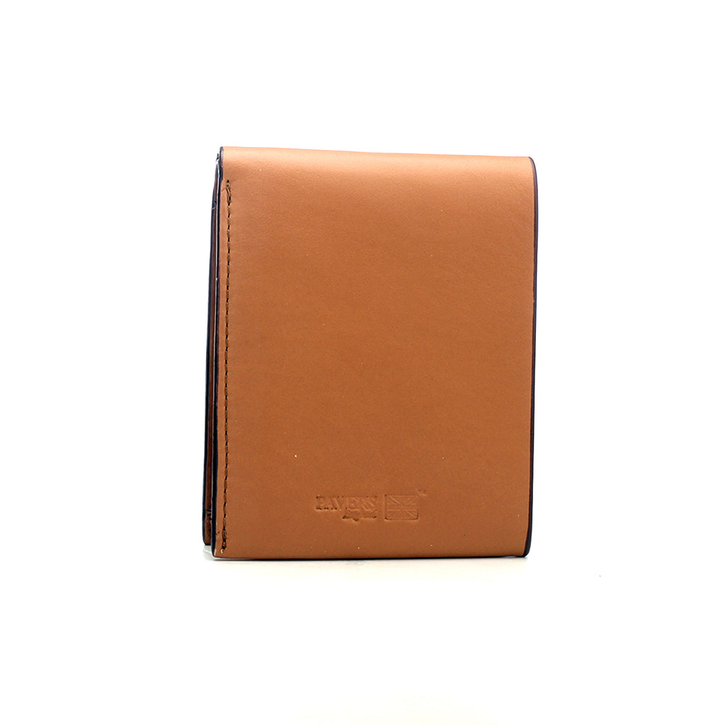 Solid Bi-fold Wallet for Men - Brown - Bags & Accessories - Pavers England
