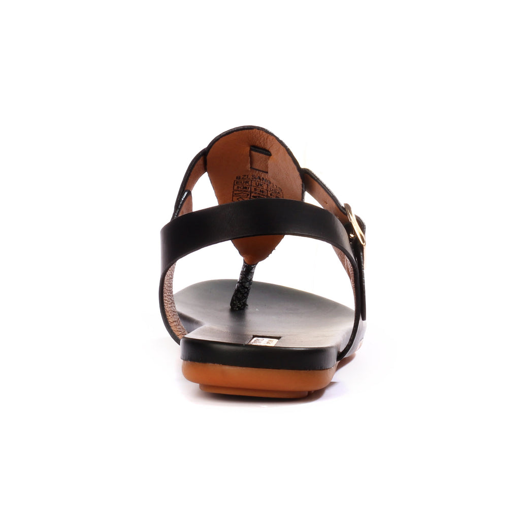 Low Heel Sandals for Women for Casual / Festive use - Black - Sandals - Pavers England