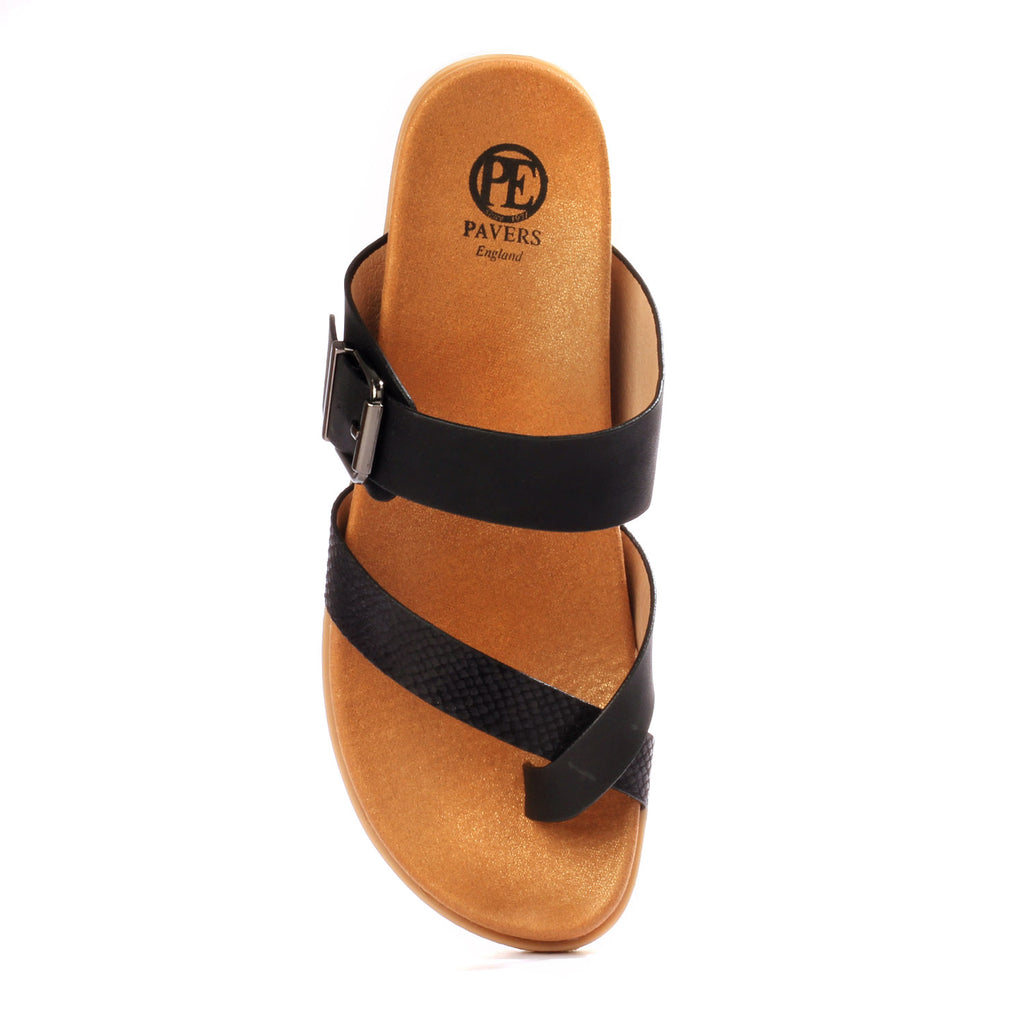 Toe Post with Low Heel for Women for Casual use - Toeposts - Pavers England