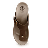 Casual Toeposts for Women-Pewter - Toeposts - Pavers England