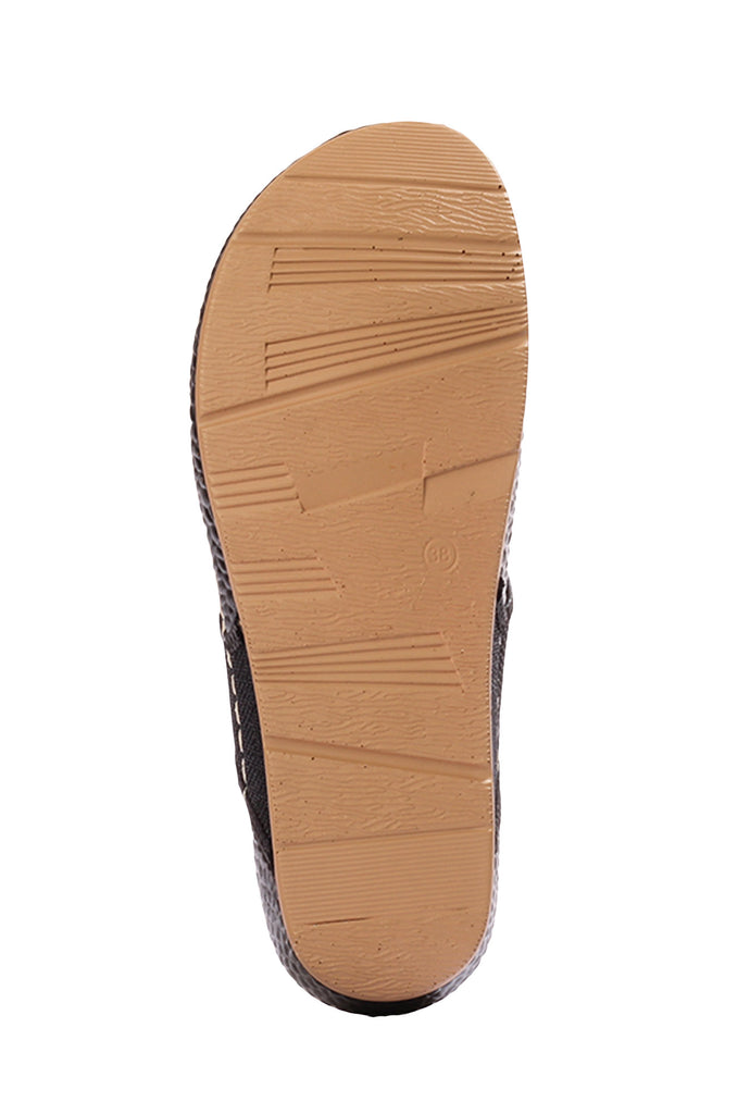Toe Post with Medium Wedge Heel & T straps for Women