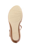 High heel Wedges for Women for Casual / Festive use-Beige - Sandals - Pavers England