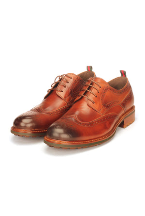 Formal Wingtip Brogues For Men - Casual - Pavers England