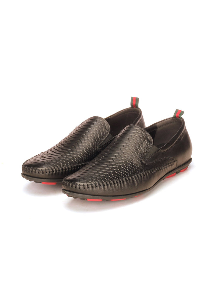 Formal Driving Shoes For Men - Black - Moccasins - Pavers England