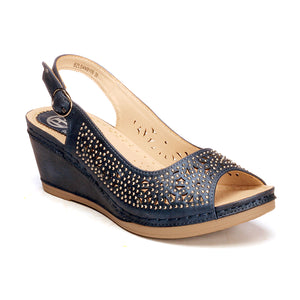 Perforated Upper Pattern Sandals for Women - Sandals - Pavers England