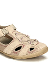 Mesh Styled Leather Slip-on for Women - Grey - Sandals - Pavers England