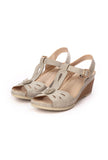 Comfortable Party Sandals for Women - Grey - Sandals - Pavers England