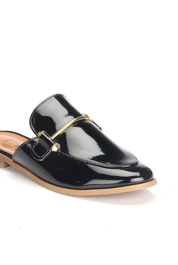 Women's Clogs - Black - Closed Mules - Pavers England