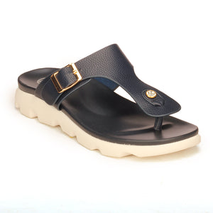 Casual Toeposts for Women-Navy - Toeposts - Pavers England