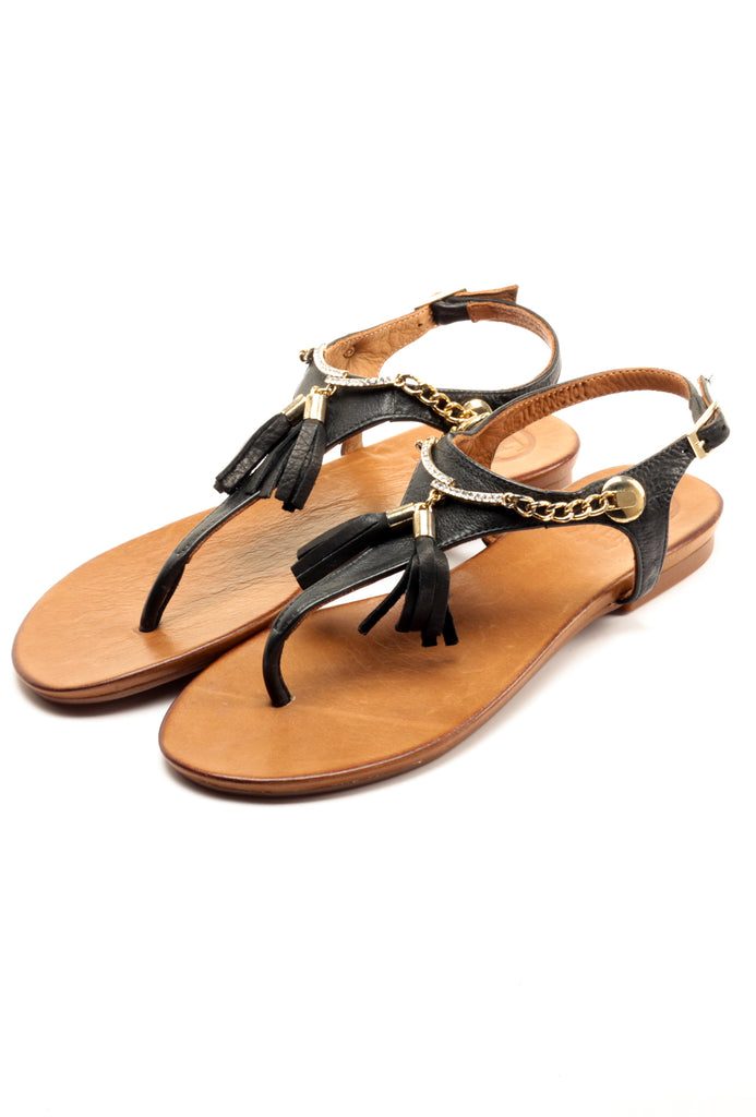 Women's Sandal - Black - Sandals - Pavers England