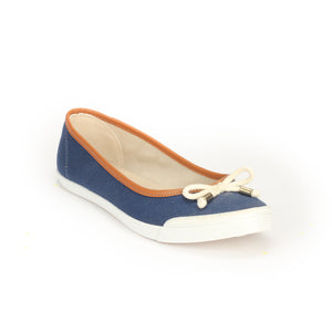 Women's Full Shoe - Navy - Full Shoes - Pavers England