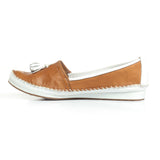Women's Full Shoe - Tan - Full Shoes - Pavers England