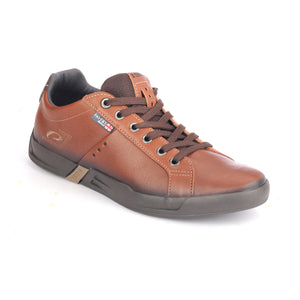 Men's Lace-up Shoe - Brown - Sneakers - Pavers England