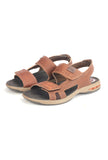 Men's Sandal-Brown - Sandals - Pavers England