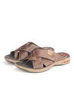 Men's Flip Flop - Brown - Open Toe - Pavers England